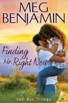 Finding Mr. Right Now (Salt Box Trilogy) - Meg Benjamin