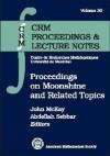 Proceedings on Moonshine and Related Topics - John McKay