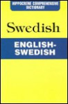 English Swedish: Hippocrene Comprehensive Dictionary - Davidovic Mladen