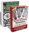 Pencil Drawing Techniques BOX SET 2 IN 1: Drawing For Beginners: (WITH PICTURES, 53 Outstanding Zentangle Patterns To Use In Your Own Masterpieces! Drawing, ... (Learn How To Draw: Zentangle Basics) - Pamela Carlyle, Charlotte Stone