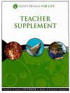 God's Design for Life Teacher Supplement: Answers in Genesis Science [With CDROM] - Debbie Lawrence, Richard Lawrence
