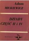 Dziady. Część II i IV - Adam Mickiewicz