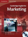 Cambridge English for Marketing Student's Book with Audio CD - Robinson Nick, Nick Robinson