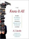 The Know-It-All (MP3 Book) - A.J. Jacobs, Geoffrey N. Cantor