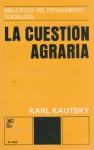 Cuestion agraria - Karl Kautsky
