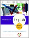 English Made Simple, Revised Edition: A Complete, Step-by-Step Guide to Better Language Skills (Made Simple (Broadway Books)) - Arthur Waldhorn, Arthur Zeiger