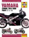 Yamaha FZR600, 750 and 1000 Fours (87-96) Service and Repair Manual (Haynes Service & Repair Manuals) - Alan Ahlstrand, John Harold Haynes, John Haynes