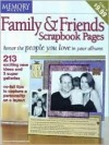 Family & Friends Scrapbook Pages - Memory Makers Books
