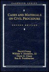 Cases and Material on Civil Procedure (Analysis and skills series) - David Crump, William V. Dorsaneo III, Oscar G. Chase