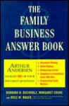 The Family Business Answer Book - Barbara B. Buchholz, Margaret Crane