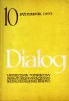 Dialog, nr 10 (114) / 1965 - Jean Genet, Maciej Zenon Bordowicz, Redakcja miesięcznika Dialog
