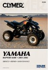Yamaha Raptor 660R 2001-2003: Service-Repair-Maintenance - Jay Bogart, Clymer Publishing