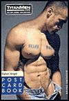 Fallen Angel Postcard Book - Titan Media, Bruno Gmunder Verlag, Brian Mills