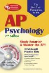 AP Psychology 8th edition w/CD-ROM (REA) - Don J. Sharpsteen, Karen Brown, Tia G. Patrick