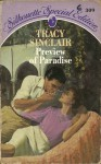 Preview of Paradise (Silhouette Special Edition, # 309) - Tracy Sinclair