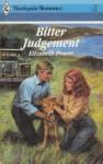 Bitter Judgement - Elizabeth Power
