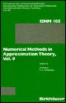 Numerical Methods In Approximation Theory - Dietrich Braess, Larry L. Schumaker