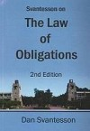 Svantesson On The Law Of Obligations - Dan Jerker B. Svantesson