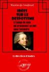 Idées sur le despotisme à l'usage de ceux qui prononcent ce mot sans l'entendre. (Philosophie) (French Edition) - Nicolas de Condorcet
