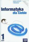 Informatyka dla Ciebie 1-3 Zeszyt ćwiczeń Część 1 - Andrzej Dyrek, Piotr Kowalski