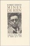 Mines De Rien - Robert Desnos