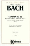 Cantata No. 12 -- Weinen, Klagen, Sorgen, Zagen: Satb with Atb Soli - Johann Sebastian Bach