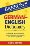 BARRONS GERMAN ENGLISH DICTIONARY (German Edition) - Barron