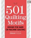 501 Quilting Motifs: Designs For Hand Or Machine Quilting (That Patchwork Place) - Quiltmaker Magazine