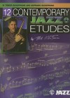 12 Contemporary Jazz Etudes: B-Flat Tenor Saxophone (Book & CD) - Bob Mintzer