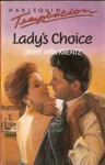 Lady's Choice (Harlequin Temptations, No 270) - Jayne Ann Krentz