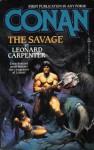 Conan the Savage - Leonard P. Carpenter