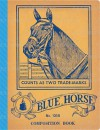 Blue Horse Vintage Notebook - Laughing Elephant Publishing