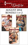 Harlequin Desire August 2014 - Bundle 1 of 2: The Fiancée CaperThe Nanny PropositionMatched to a Prince - Maureen Child, Rachel Bailey, Kat Cantrell