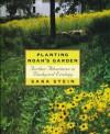 Planting Noah's Garden: Further Adventures in Backyard Ecology - Sara Bonnett Stein
