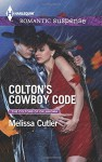 Colton's Cowboy Code (The Coltons of Oklahoma) - Melissa Cutler