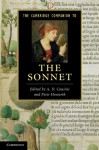 The Cambridge Companion to the Sonnet. Edited by A.D. Cousins and Peter Howarth - A.D. Cousins, Peter Howarth