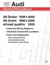 Audi A6 Electrical Wiring Manual: A6 Sedan 1998-2000 A6 Avant 1999-2000 Allroad Quattro 2000 - Bentley Publishers