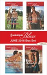 Harlequin Blaze June 2016 Box Set: Cowboy All NightA SEAL's DesireTurning Up the HeatIn the Boss's Bed - Vicki Lewis Thompson, Tawny Weber, Tanya Michaels, J. Margot Critch