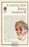 Juicios Sumarios: Ensayos Sobre Literatura, II - Rosario Castellanos