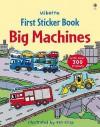 Big Machines Sticker Book (Usborne First Sticker Books) - Dan Crisp