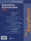 Der Anaesthesist Weiterbildung Fur Anasthesisten 1998: Ihre Basis Fur Die Facharztprufung - H.J. Bardenheuer, H. Forst, R. Larsen, R. Rossaint, D.R. Spahn