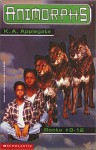 Animorphs, Books 9-12 (The Secret / The Android / The Forgotten / The Reaction) by Applegate, K.A. (1997) Paperback - K.A. Applegate