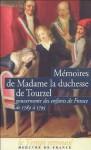 Mémoires de Madame la Duchesse de Tourzel : Gouvernante des enfants de France de 1789 à 1795 - Louise de Croÿ d'Havré, Jean Chalon, Carlos de Angulo