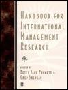 Handbook of International Management Research. - Betty Jane Punnett, Oded Shenkar