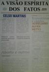 A Visão Espírita dos Fatos - Celso Martins, Aureliano Alves Neto