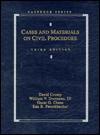 Cases And Materials On Civil Procedure, Fifth Edition - David Crump