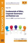 Cima Official Learning System Fundamentals of Ethics, Corporate Governance and Business Law - Mead, Larry Mead, David Sagar, Kevin Bampton