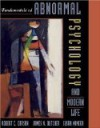 Abnormal Psychology and Modern Life 10e '98 Telecourse Update - Robert C. Carson, Susan Mineka, James N. Butcher