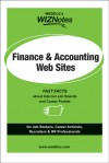 WEDDLE's WIZNotes: Finance & Accounting Web Sites: Fast Facts About Internet Job Boards and Career Portals - Peter Weddle