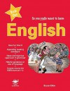 English Prep Book 1 (So You Really Want To Learn) - Susan Elkin